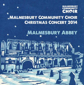 Malmesbury Community Choir 2014 CD cover