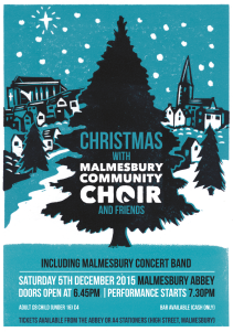 Malmesbury Community Choir Poster 2015