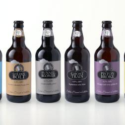Art working beer bottle labels