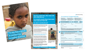 Water Aid Leaflet