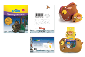 Gruffalo Trunki packaging design