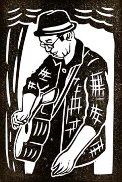 Pete Christie | Lino print | 100 x 150mm