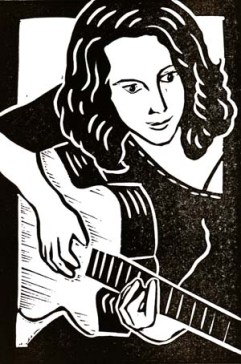 Krista Green | Lino print | 100 x 150mm