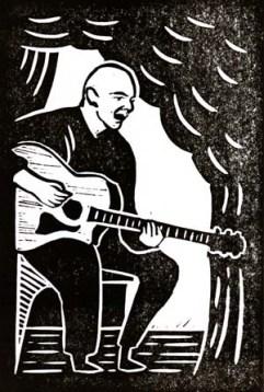 Frank Boyle | Lino print | 100 x 150mm