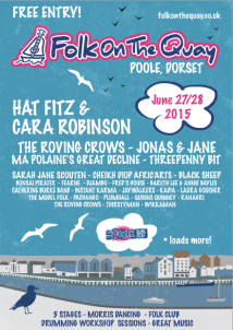 Folk on the Quay 2015 Poster