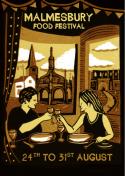 Malmesbury Food Festival Poster