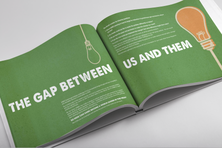 Global Leader Handbook book design