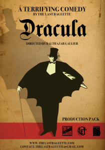 Dracula programme and poster