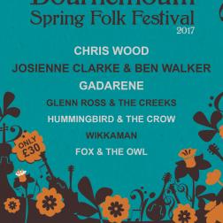 Spring folk Festival flyer/poster