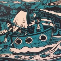 Nursery Rhyme | Over the Irish sea